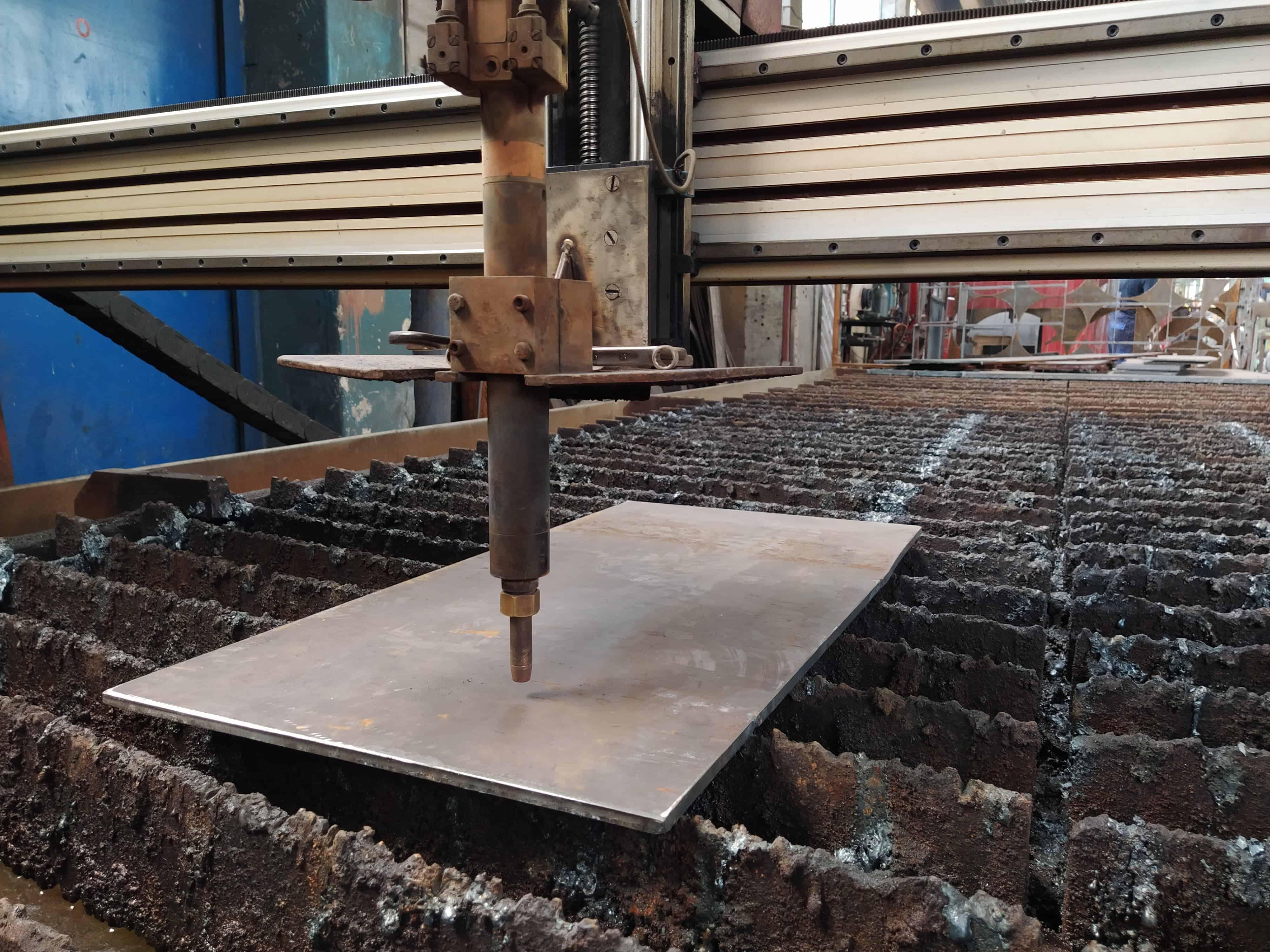 CNC rezanje sa gasom i plasmom